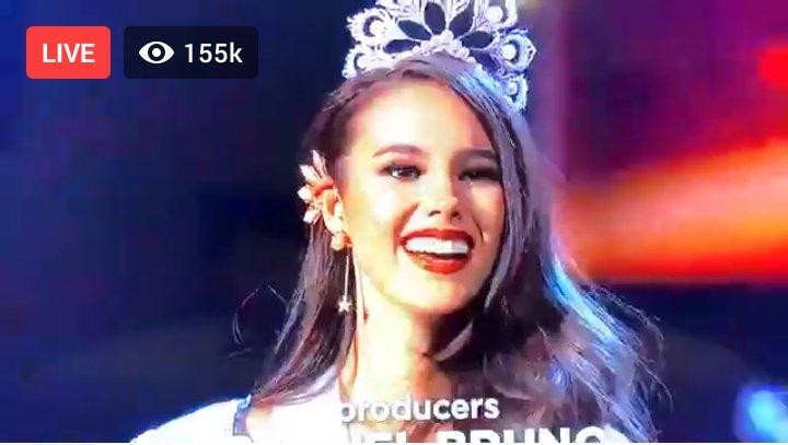 #MissUniverse2018  #CatrionaGray #Congratulations