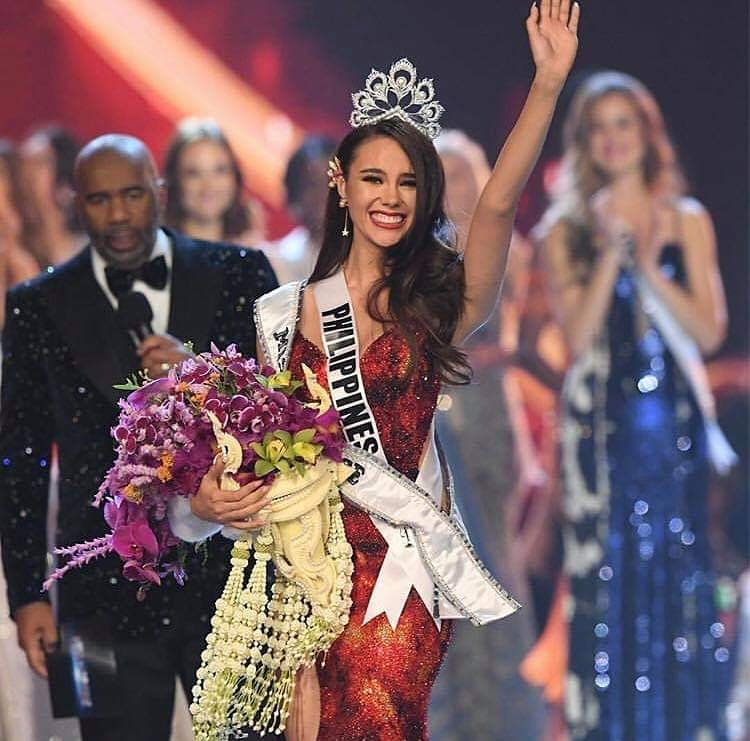 ใต้เตียงดารา's photo on Miss Universe 2018