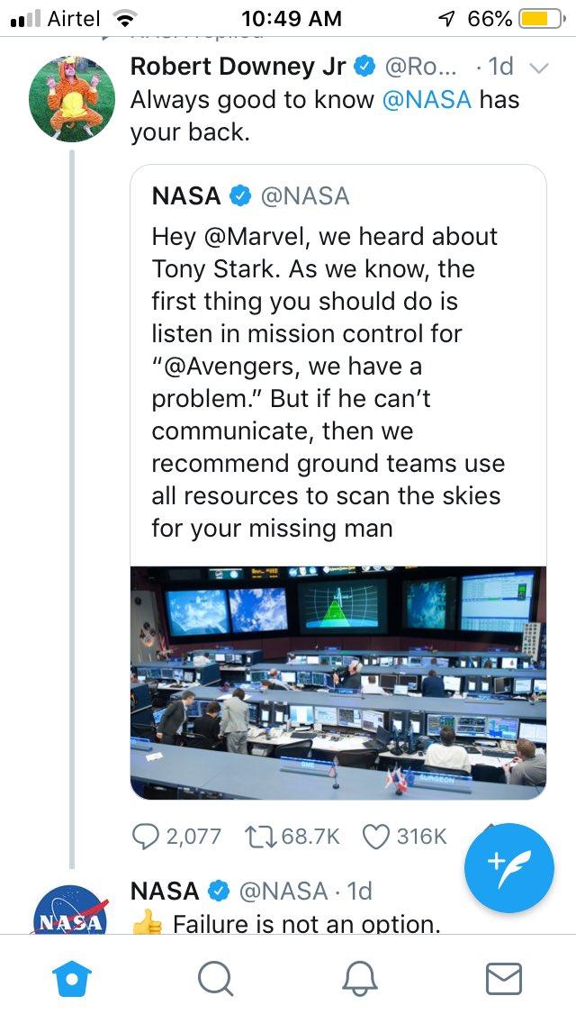 NASA on Twitter: