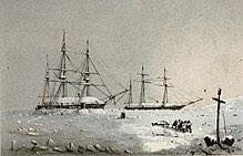 #OnThisDay 1856 HMS RESOLUTE, which was abandoned in the Arctic after a failed mission to find EREBUS &amp; TERROR, was found by US Whaler. She was returned to UK by USA.When she paid off in 1879 Queen Victoria had a desk made which was presented to USA and is the desk in Oval Office <br>http://pic.twitter.com/ap1vWzQEH8