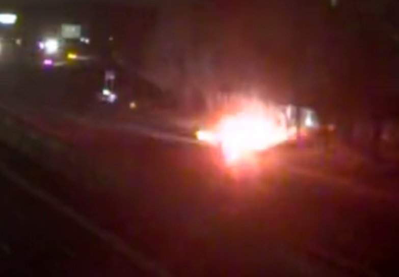 DeKalb Co : Crash on I-85/nb at Clairmont Rd  (Ex  91) on