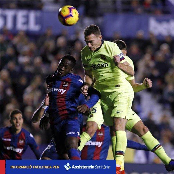 [INJURY NEWS] Calf injury for Thomas Vermaelen 👉 http://ow.ly/LXzO30n0W5m  🔵🔴 #ForçaBarça