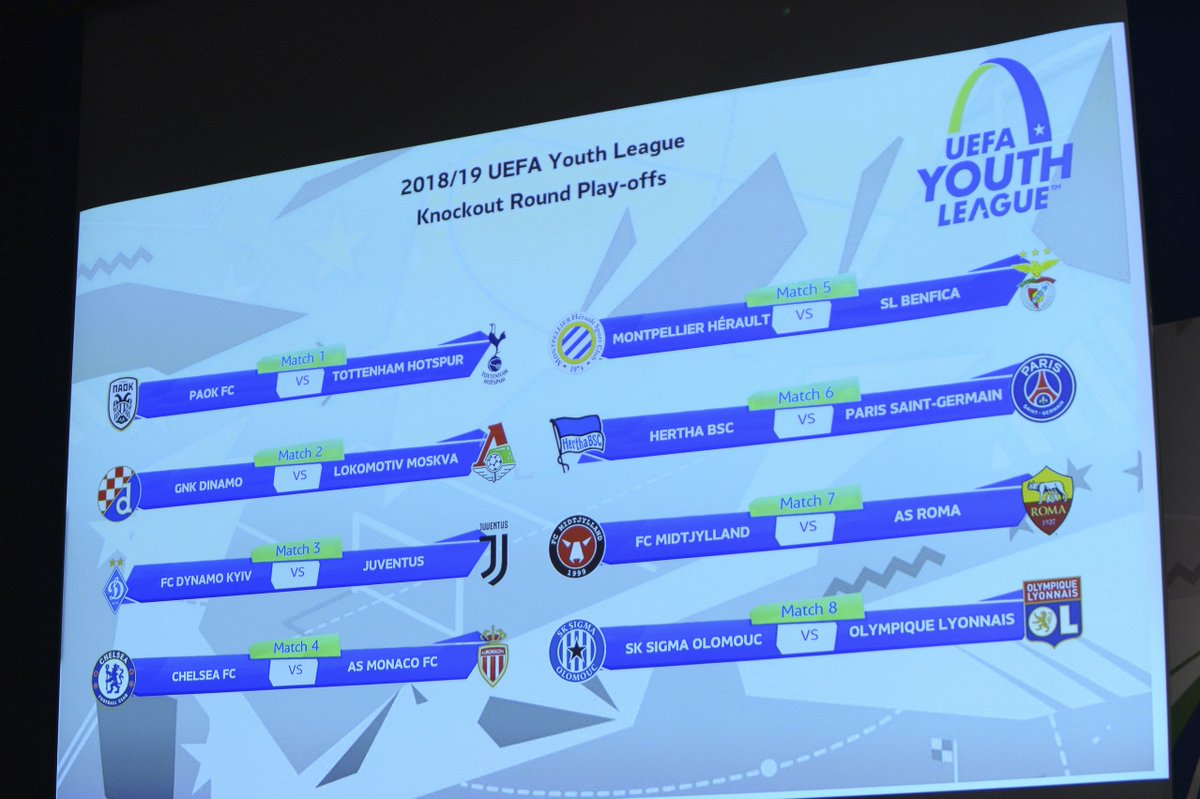 #UYL play-off draw in full - ties 19/20 February 👇 http://bit.ly/2SUuYt5