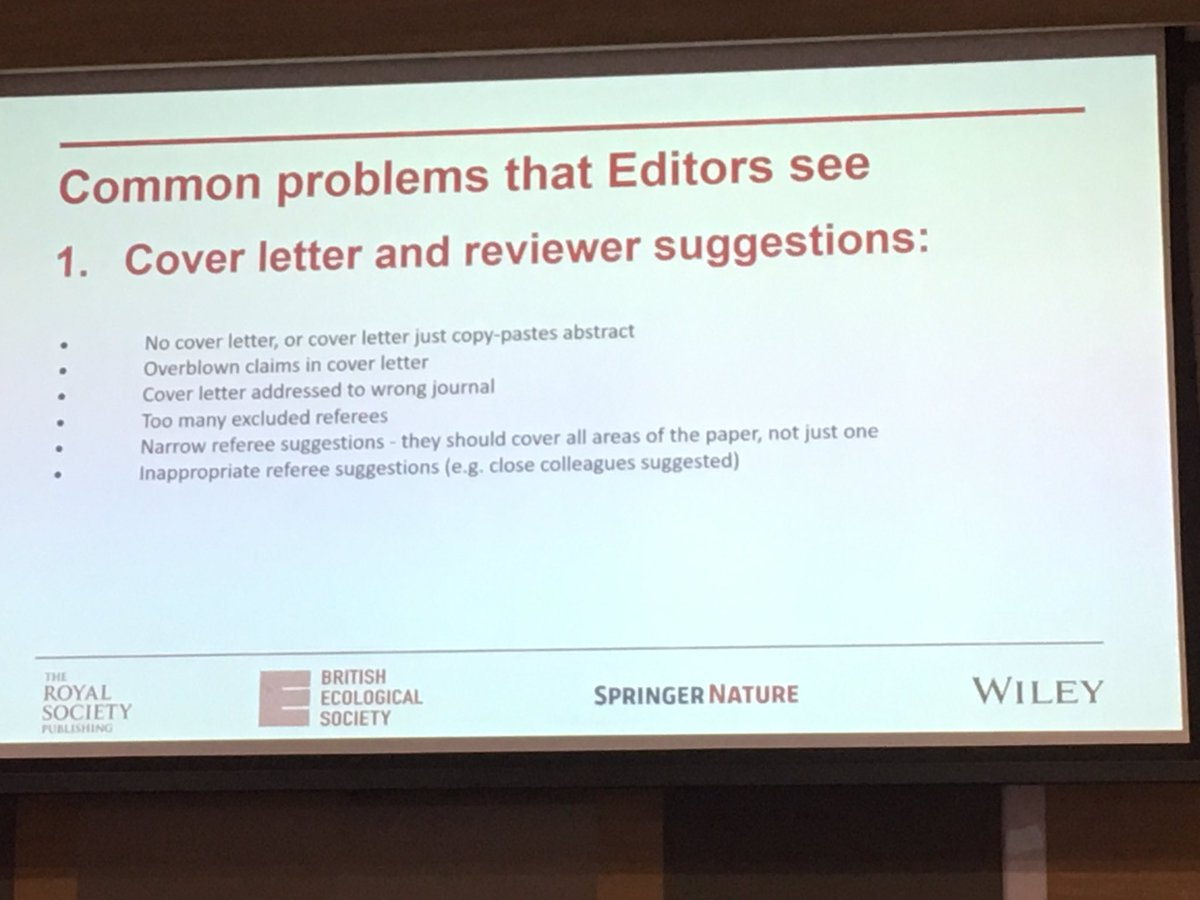 Michal Bogdziewicz On Twitter Common Problems With Cover Letters