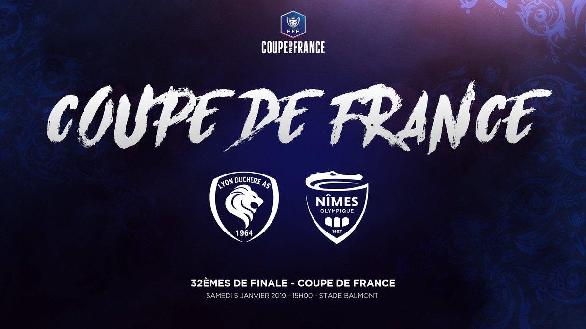 COUPE DE FRANCE -. ÉDITION 2018-2019. Dun4mAoW0AEYe_X