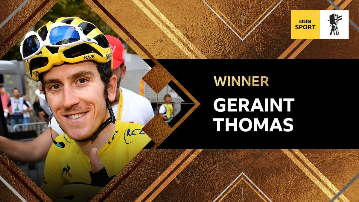 It has been a great year for British sport and long may it continue. Tour de France winner Geraint Thomas was voted BBC Sports Personality of the Year 2018 on Sunday night. ➡️ bbc.in/2PDLZWt
