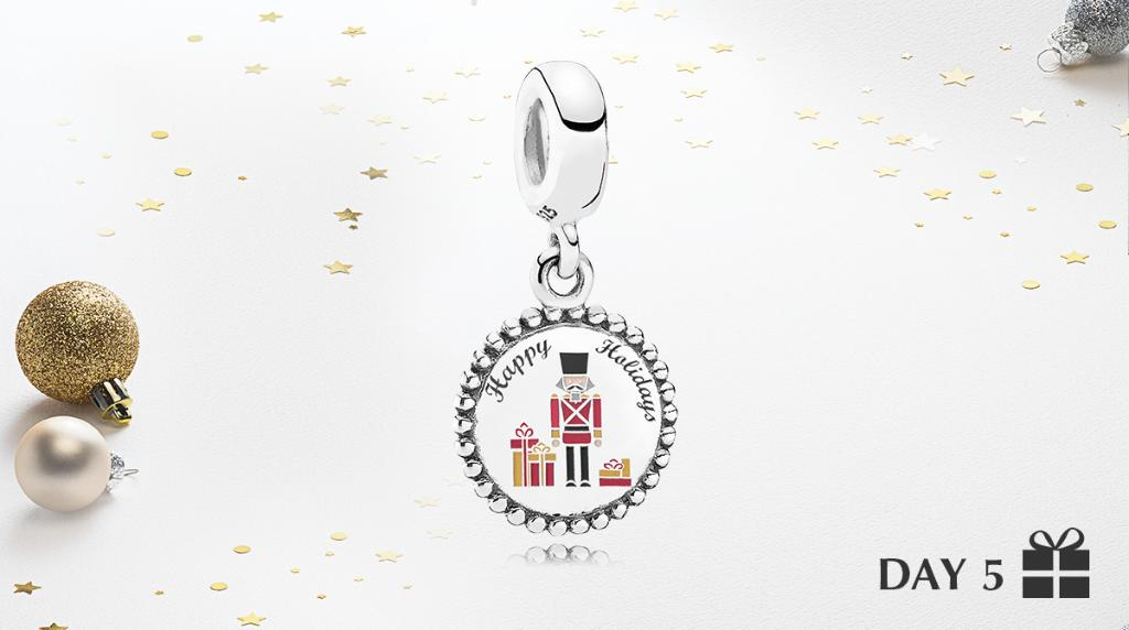 Day 5: Toy soldier at your attention!    Enter to win this charm of the day by replying below your favorite thing about the holidays with #PANDORAsweepstakes and tagging a friend! *US Only* Must enter by 12/17 11:59PM EST. Details here: https://t.co/QAGDbHX4IP