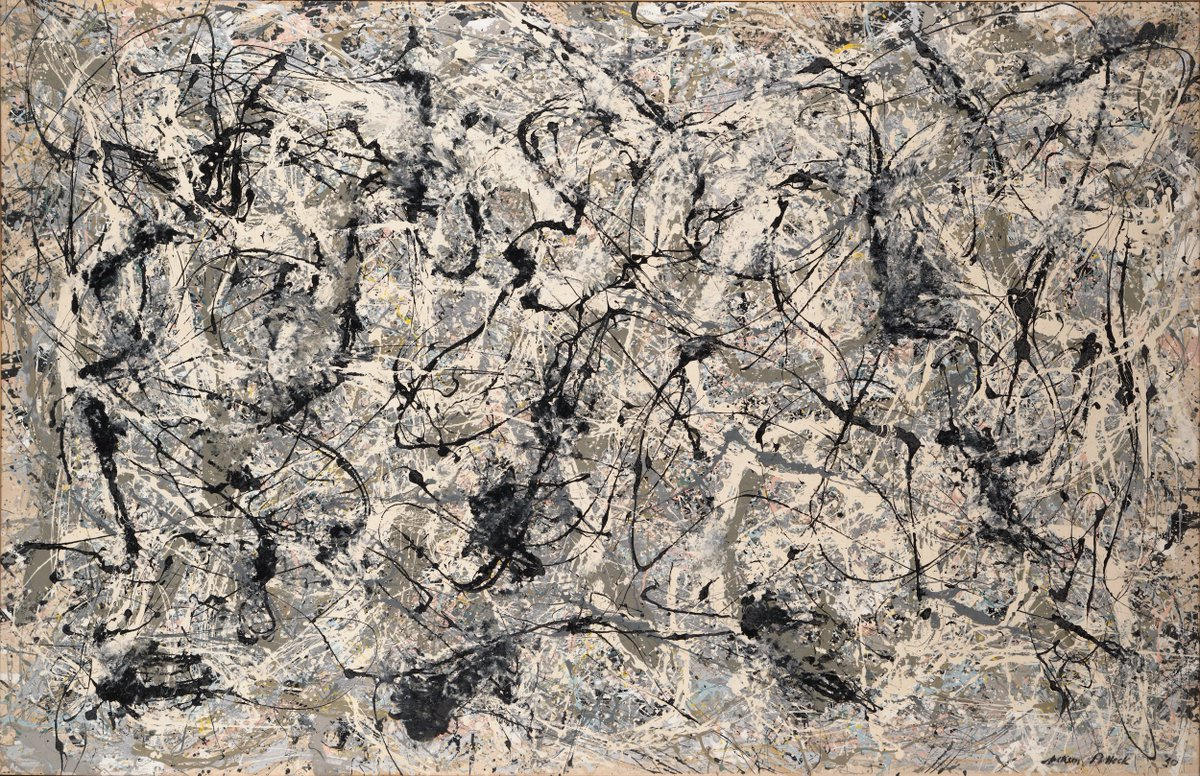 Opening today! 'Epic Abstraction: Pollock to Herrera' explores large-scale abstract painting, sculpture, and assemblage through more than 50 works. #MetEpicAbstraction https://t.co/9hCWxAxKkz