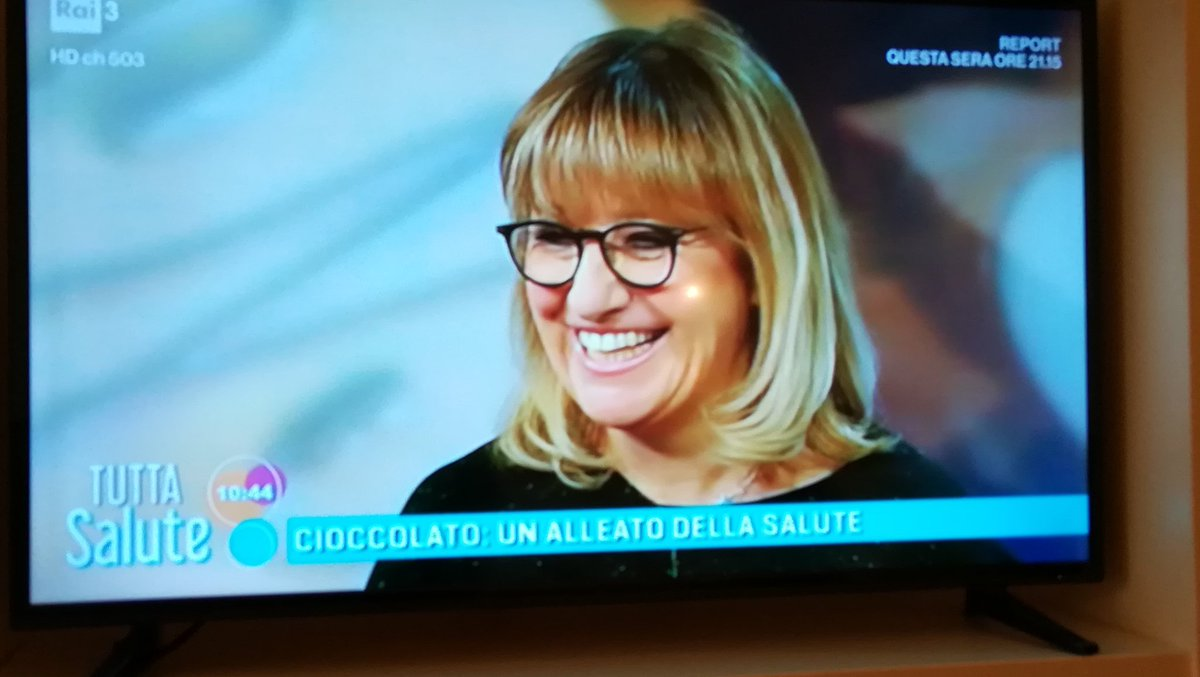 'Quello bianco non è cioccolato!'  Bravissima la dr Renata Bracale!! #cioccolato