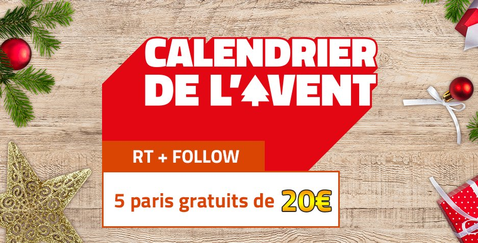 Calendrier Avent Pmu.Pmu Paris Sportifs On Twitter Alleeeeez Encore 5x20