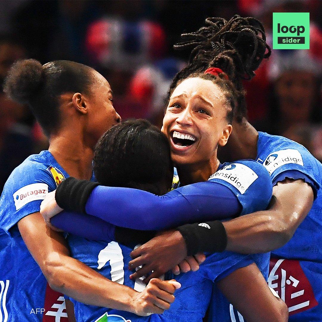 Les Bleues sont championnes d'Europe de handball !  Un an après leur sacre au mondial, les joueuses de l'équipe de France ont remporté le titre pour la première fois ce dimanche face à la Russie.   #BRAVO