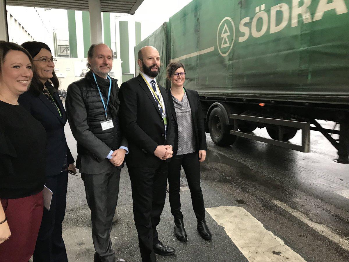 I dag besöker vd Mattias Dahl Blekinge och @sodra tillsammans med @Industriarb och @Skogsindustrin för att lära och lyssna in. #blekingedagen #helasverige #hållbarhet #kompetensförsörjning