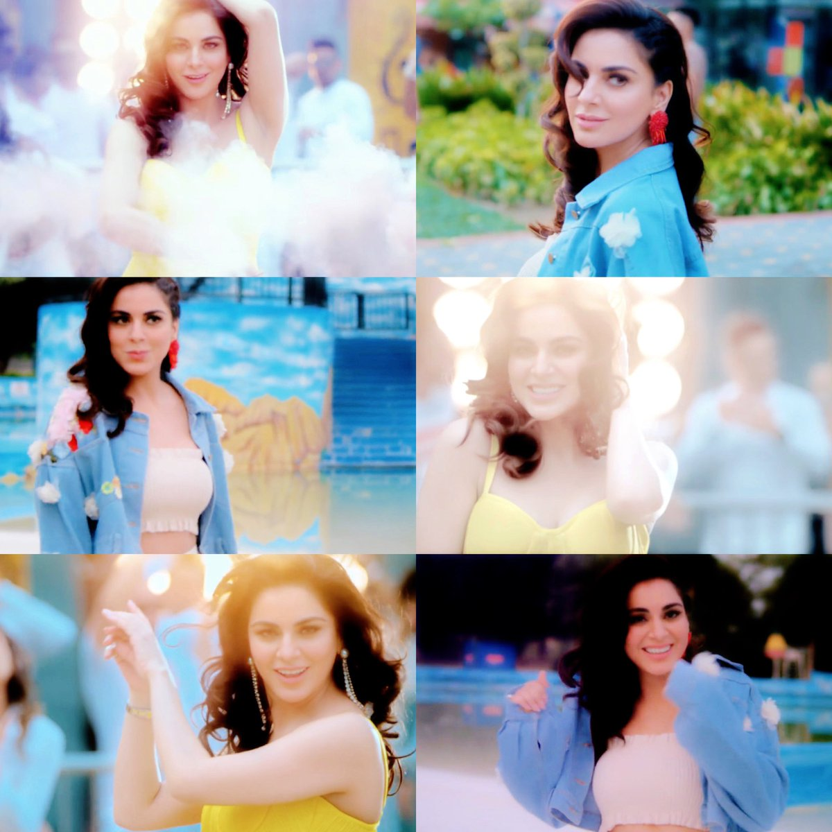 Car Gabru Di! ✨ @AryaSmilesa Your expressions the fab 😍 Loved you here! ♥️ The song sounds very cool too ✌🏻Love you 😘 #ShraddhaArya