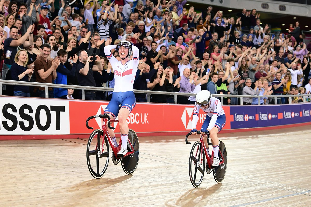 Want some #MondayMotivation?  How's this moment from last night's #TissotUCITrackWC for you?  Madison magnificence.