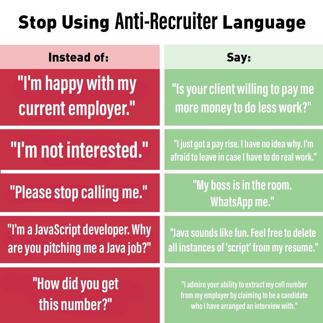 I Am Recruitr on Twitter:
