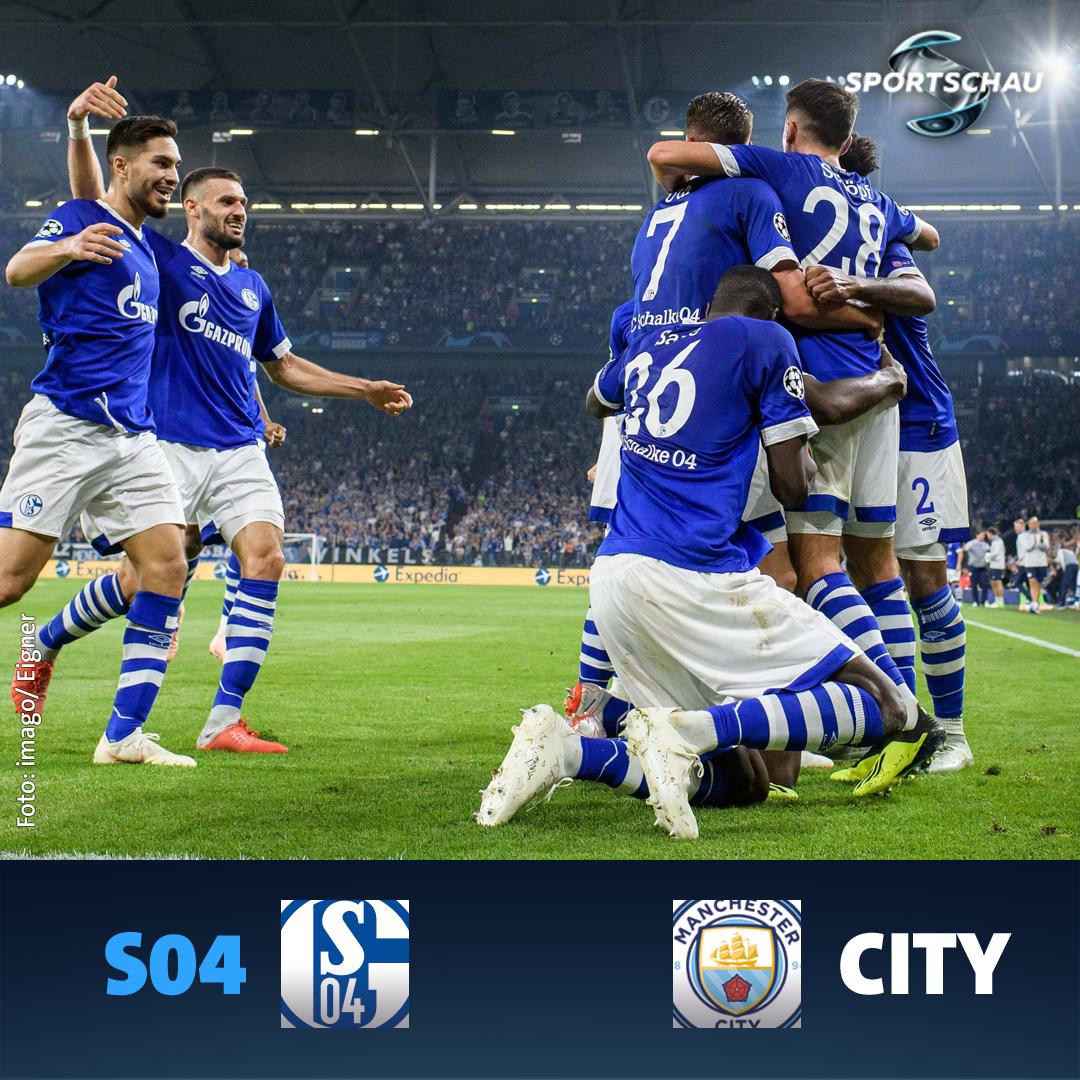 Schalke trifft im Achtelfinale der CL auf Man City. #UCLDraw #ChampionsLeague