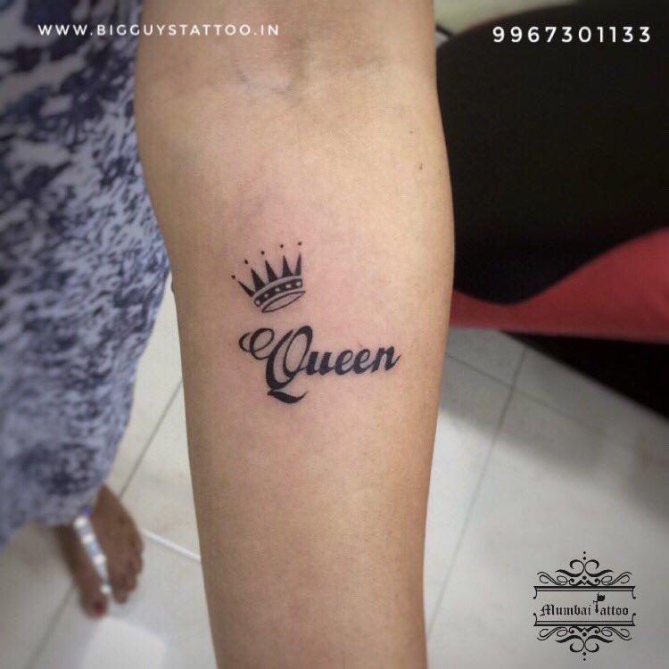 Mumbai Tattoo Colaba On Twitter Queen Crown Tattoo