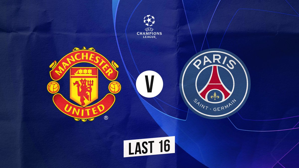 We've been drawn against @PSG_inside in the @ChampionsLeague last 16. #UCLdraw  First leg (H): 12/13 or 19/20 February 2019 Second leg (A): 5/6 or 12/13 March 2019
