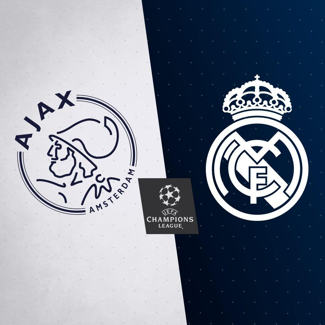 🔀🏆 ¡El @AFCAjax será nuestro rival en octavos de final de la Champions!  #RMUCL | #HalaMadrid