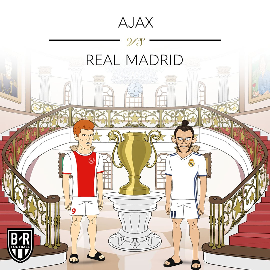 🌟 Ajax vs. Real Madrid 🌟 #UCLDraw