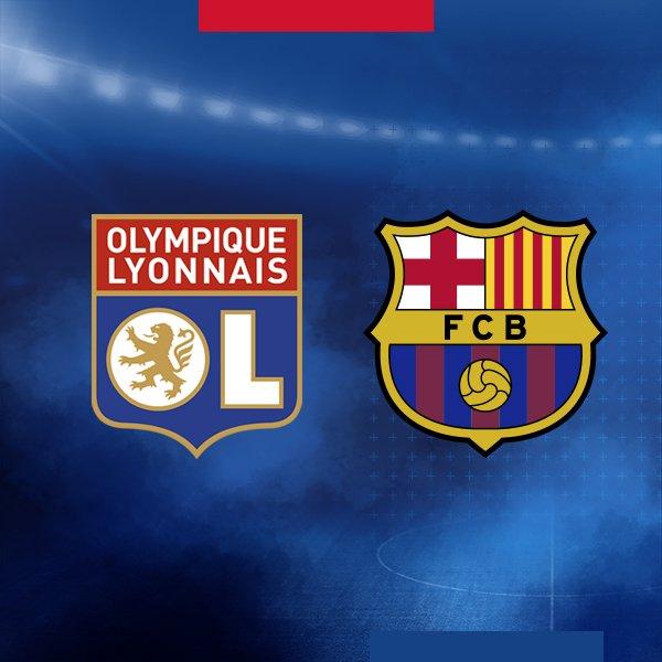 [ÚLTIMA HORA] El Barça se enfrentará al Olympique Lyonnais en los octavos de final de la @LigadeCampeones