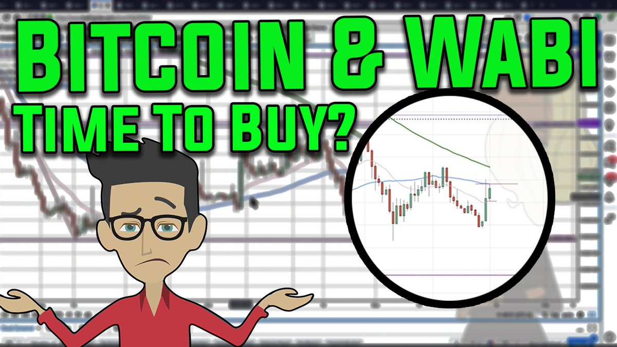 Is it a good time to buy #Bitcoin &  tod#Wabiay?  Plehttps://t.co/ufWsqCm92Ease join me tonight 9pm(uk) 4pm(ny) at  forhttps://t.co/Jdgva5AhLg Monday Night Crypto. If you have any coins you would like me to look at, please let me know in the comments below.