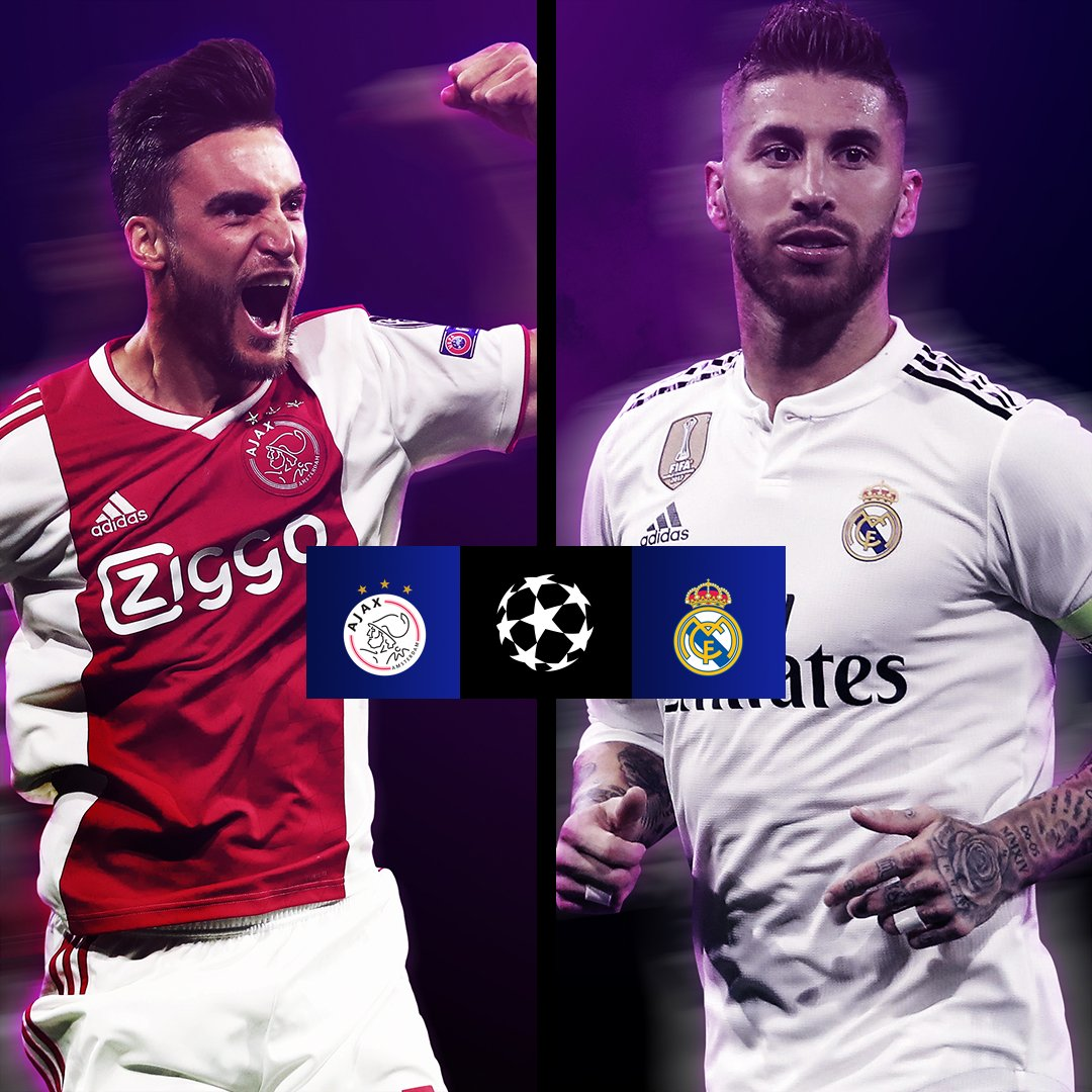 Official: Real Madrid will face Ajax in the Champions League Round of 16! #UCLDraw #HalaMadrid