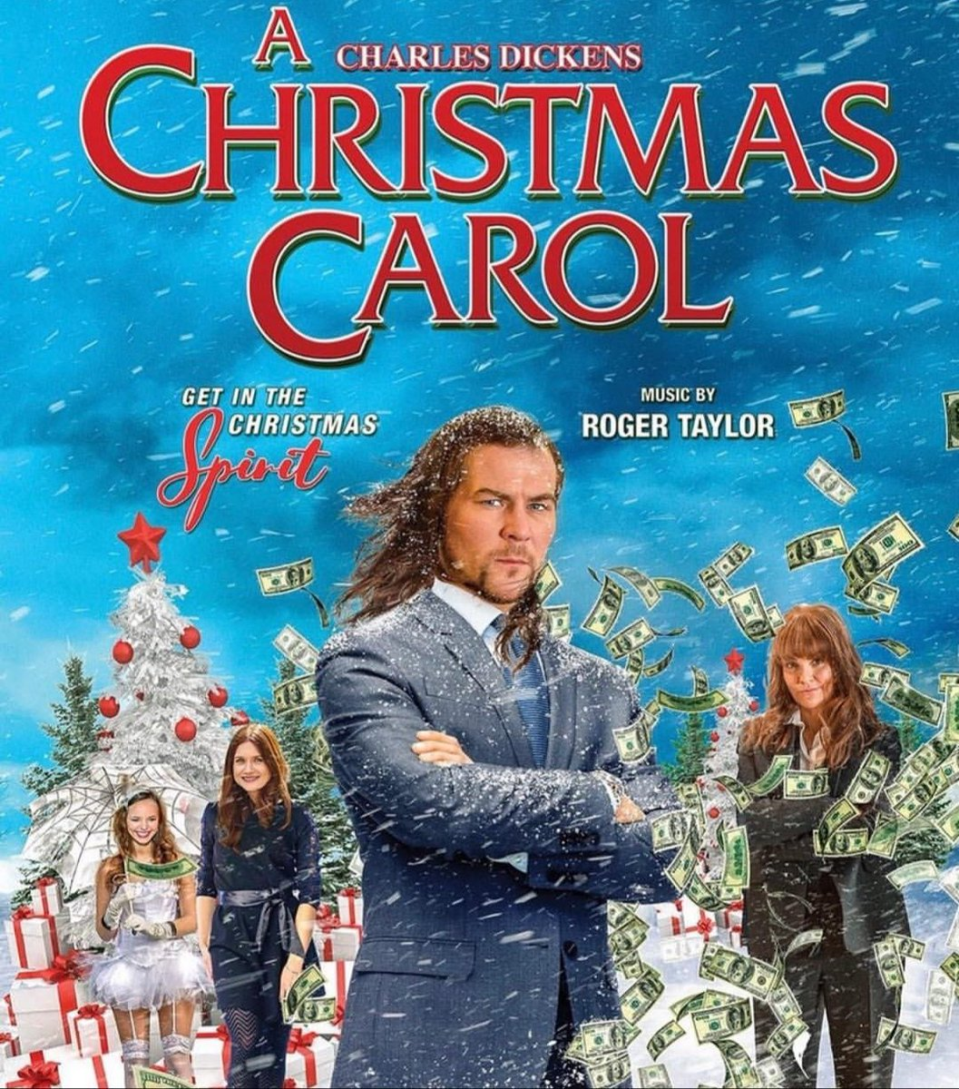 A Christmas Carol Poster.Roger Taylor On Twitter A Deceptively Jolly Poster For A