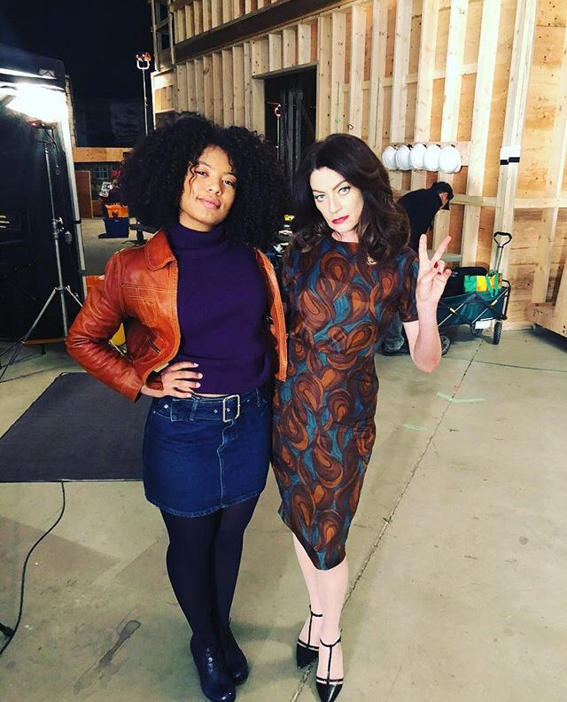 Good morning everyone I hope you all have a great Monday today leaving you all with the absolutely gorgeous and talented Michelle Gomez and Jaz Sinclair  via Michelle's Instagram <br>http://pic.twitter.com/8DalL4V7NQ