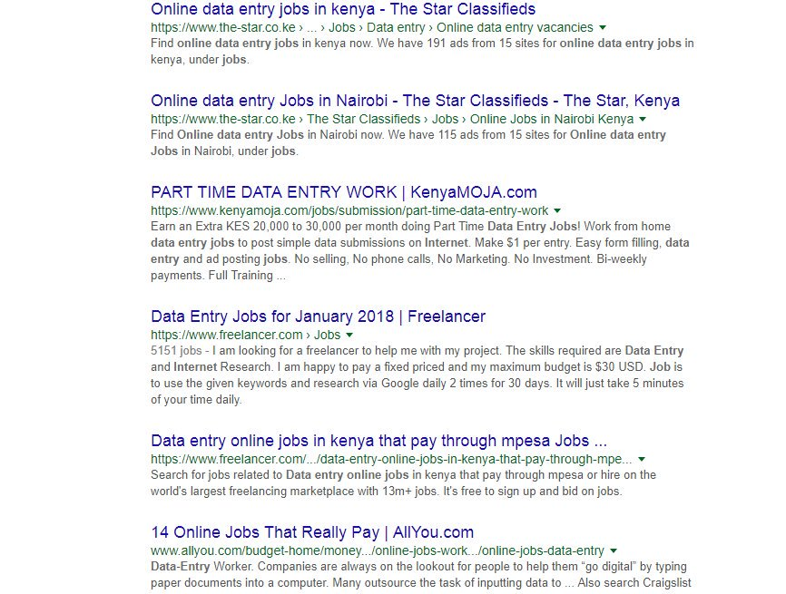 Simple Internet Data Entry Jobs — BCMA