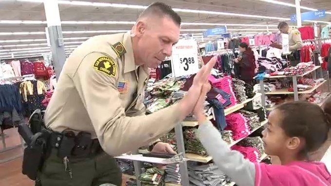 Hundreds of San Bernardino County kids get Walmart shopping spree at Shop With a Cop event https://t.co/98ODSgOkZv