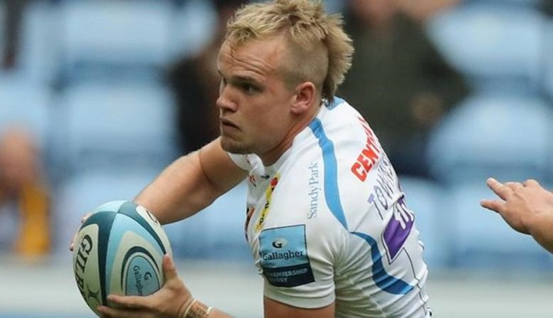 test Twitter Media - Exeter Chiefs scrum-half Stuart Townsend is likely to miss the rest of the season because of a serious knee injury.  More: https://t.co/UXQI8axX5r https://t.co/8SXtlwecsh