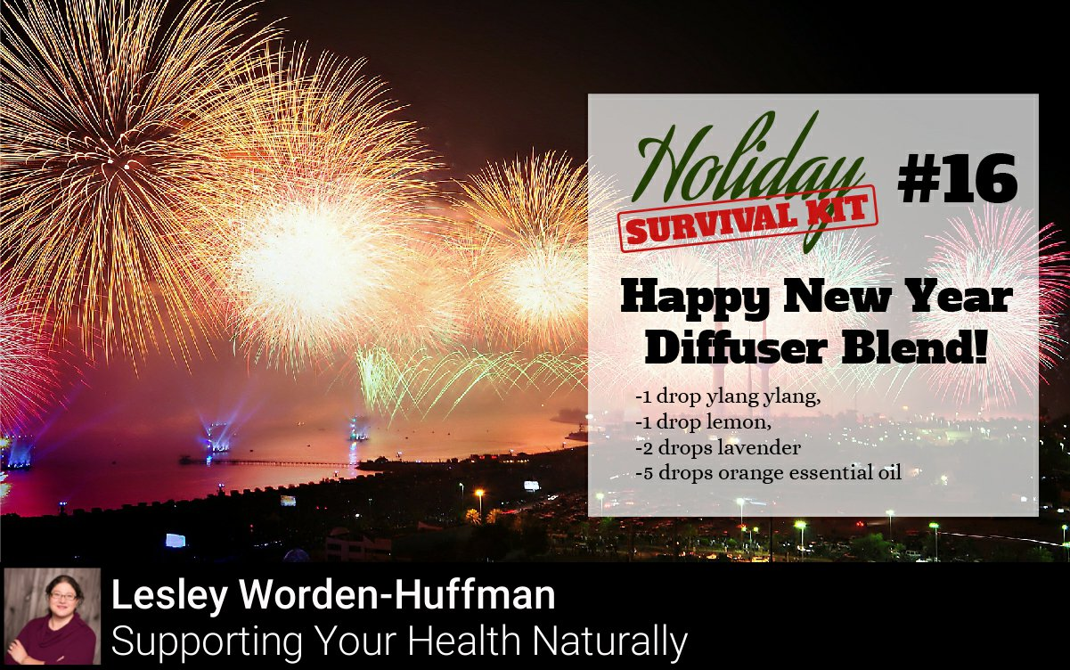 "Lesley Worden-Huffman on Twitter: ""Happy New Year Diffuser Blend!… """