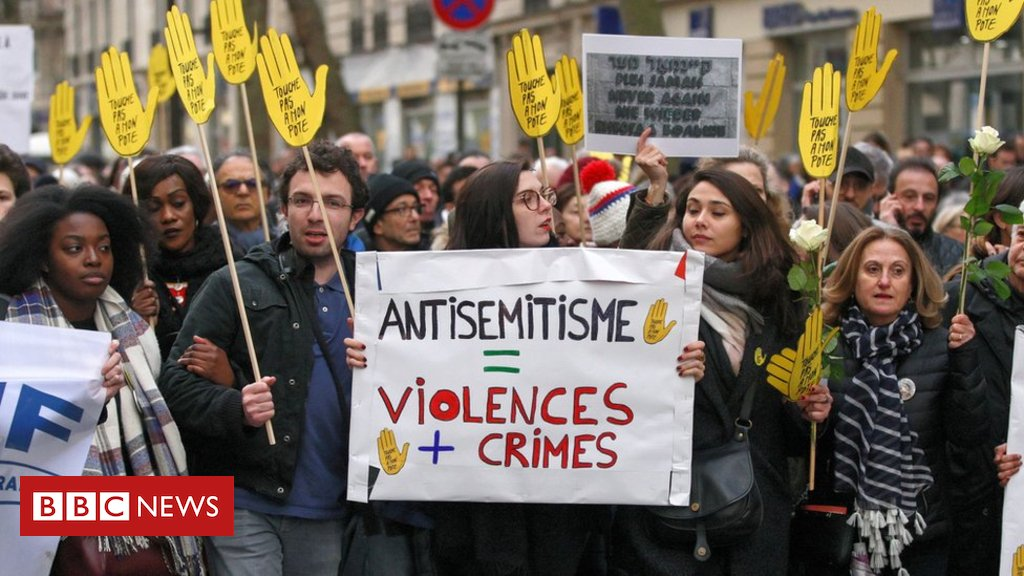 Os números que mostram o avanço do antissemitismo na Europa - https://t.co/9iHRllztmj