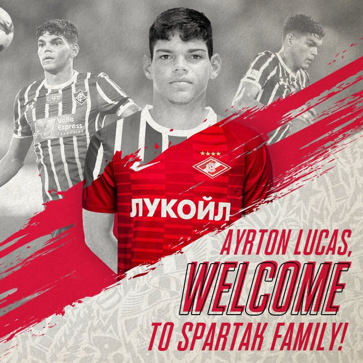 Ayrton Lucas é anunciado como novo reforço do Spartak Moscou