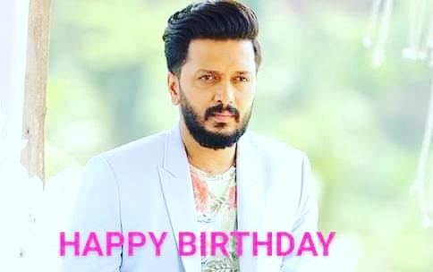 HAPPY BIRTHDAY... GREAT ACTOR... RITEISH DESHMUKH SIR...