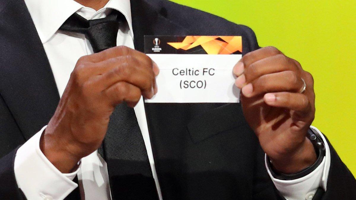 🏆 Europa League round of 32 draw  🏴 Celtic v Valencia 🇪🇸  #EuropaLeagueDraw