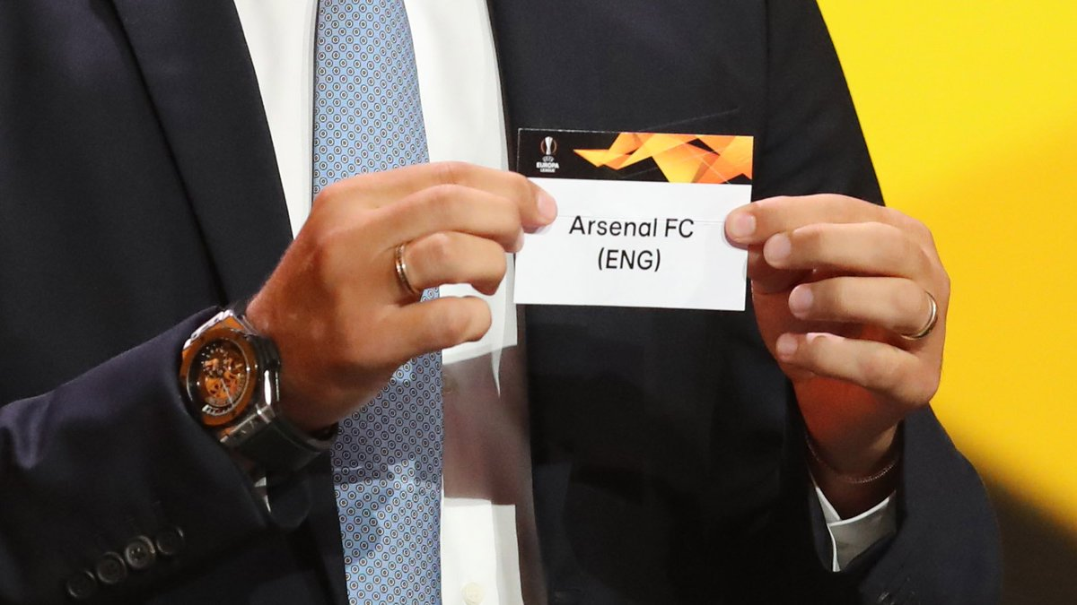 🏆 Europa League round of 32 draw  🇧🇾 BATE Borisov v Arsenal 🏴  #EuropaLeagueDraw