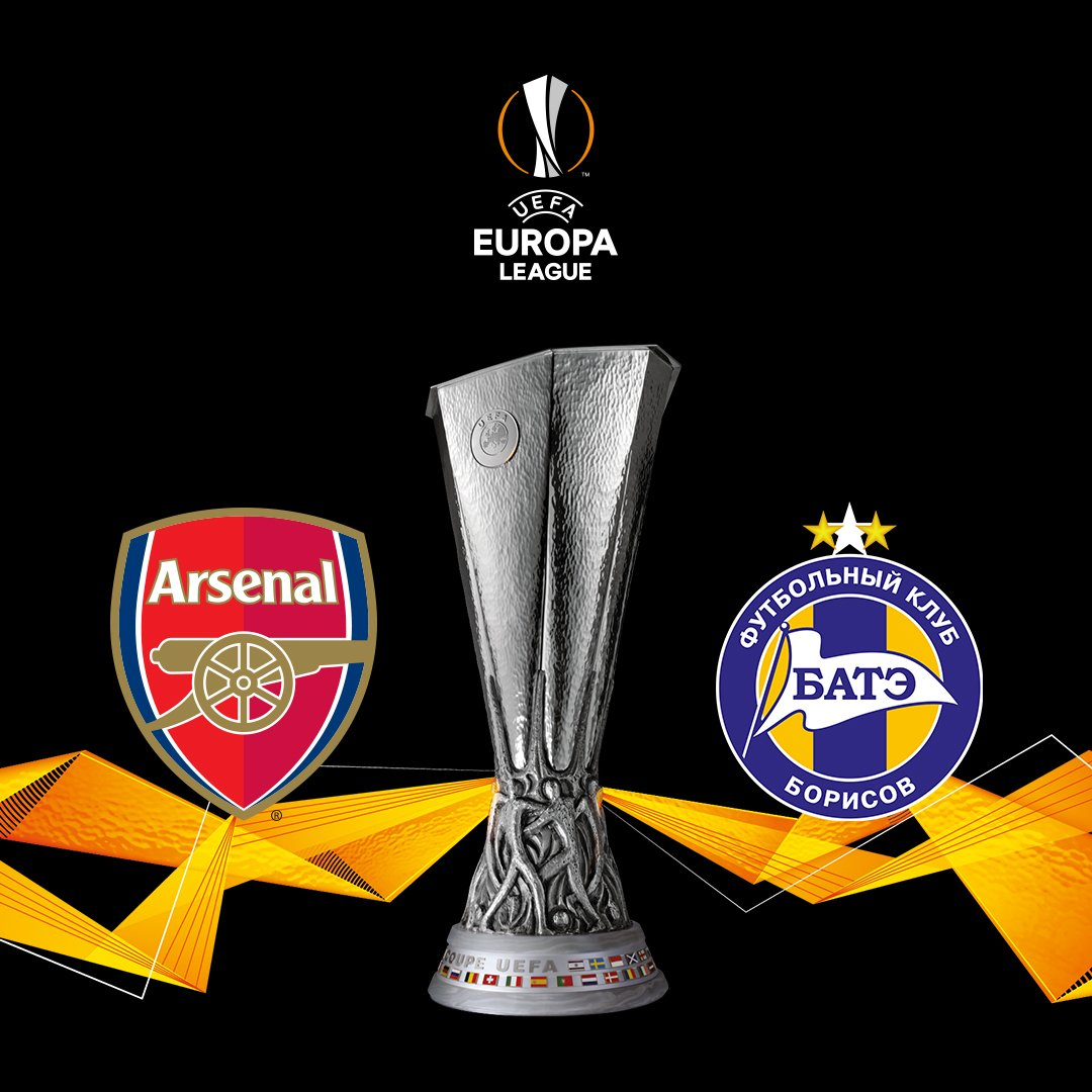 The draw for the last 32 of the @EuropaLeague has been made...  ...we'll be facing @FCBATE - with the first leg to be played in Belarus 🇧🇾  🏆  #UEL