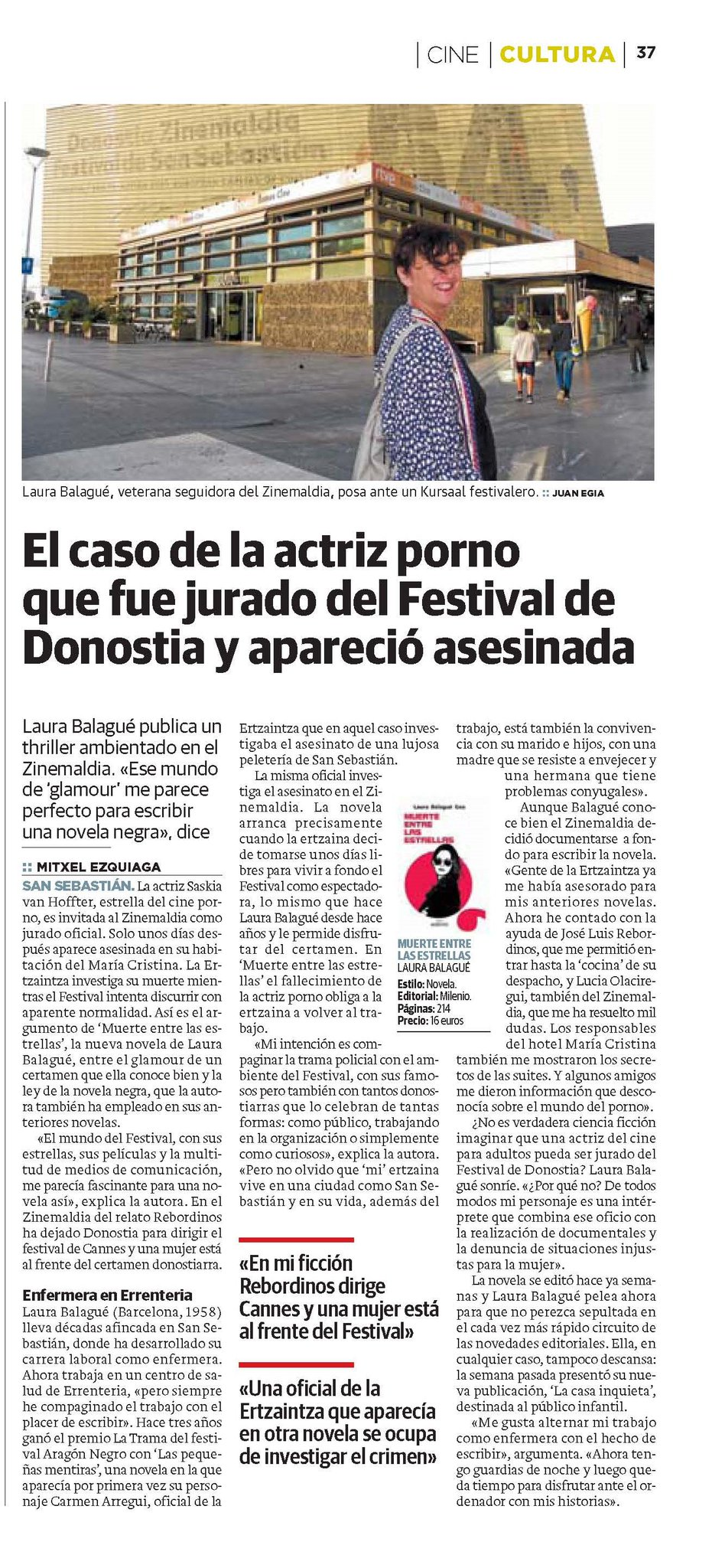 """Actriz Porno De Donostia editorial milenio on twitter: """"¿conocéis el caso de la"""