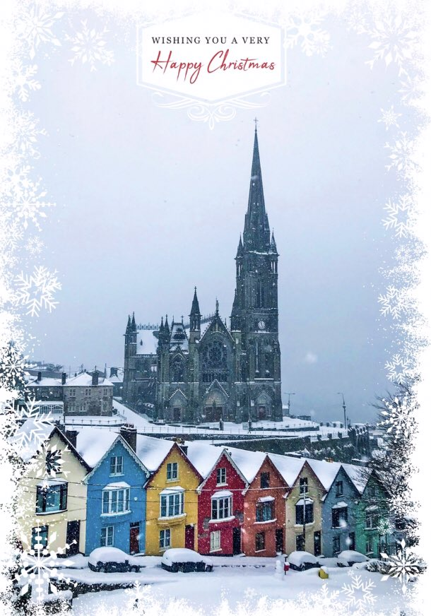 Almost The last Christmas cards on Calendar 2019 , these shops can be from B.M.C Stores , @CobhHeritageCen , Centra 16 West Beach, St Colman's Cathedral shop , @TitanicCobh  , @SpikeIslandCork  , @fotawildlife , Centra 64 Hermitage Brive Cobh , @supervalucobh #Cobh #Cork https://t.co/Z6Gh7K0J1A