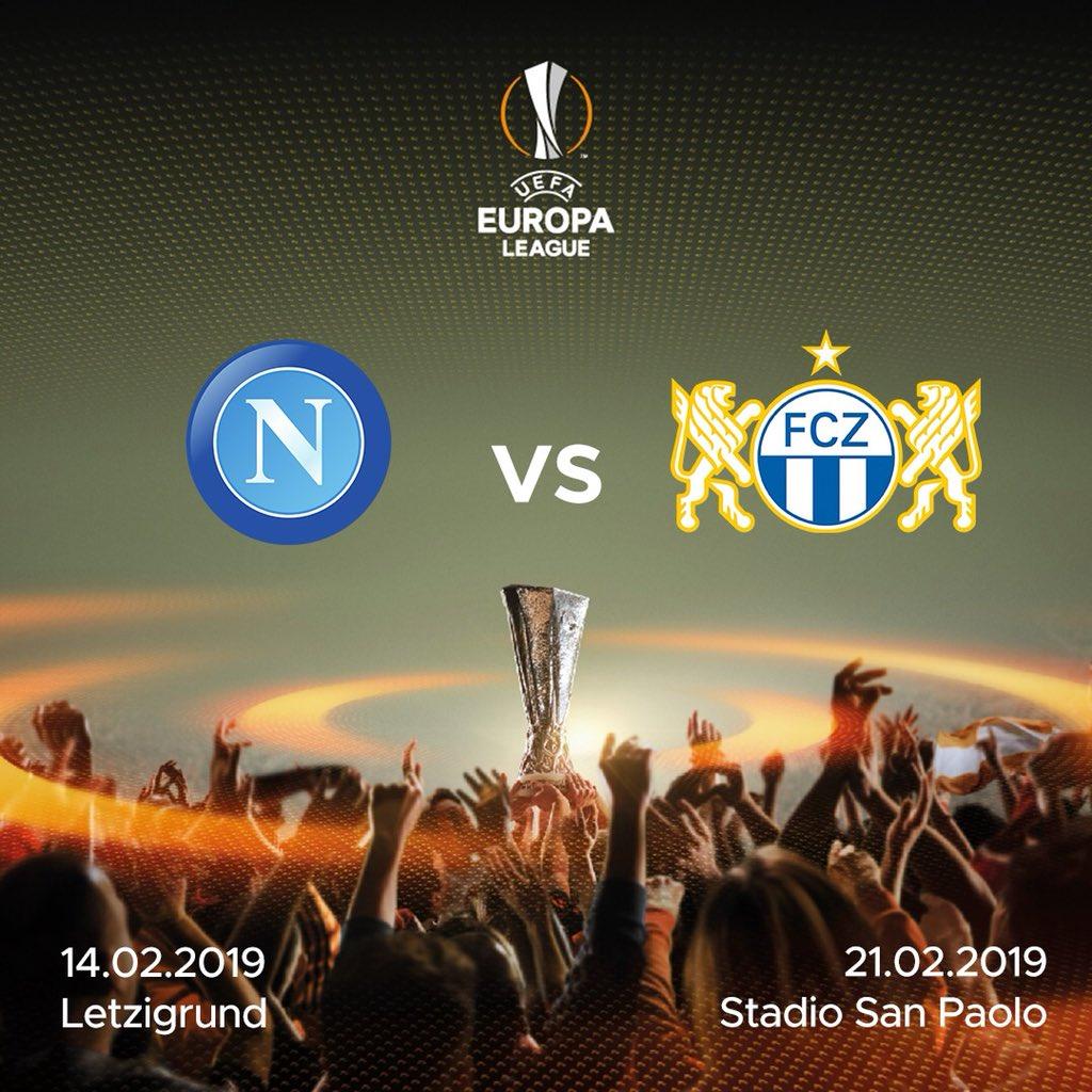 .@EuropaLeague, il Napoli affronterà lo Zurigo 👉🏻 http://sscn.it/8b284d 💙 #ForzaNapoliSempre
