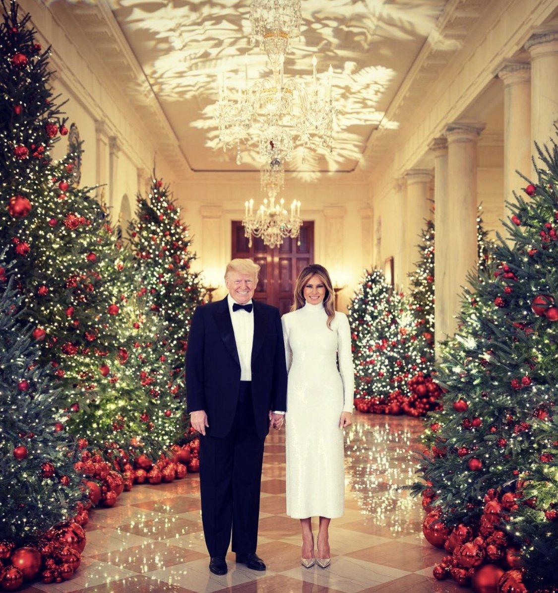 Melania Trump On Twitter Merry Christmas From President Donald J