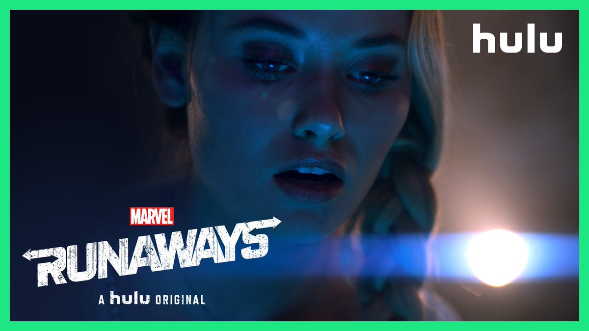 We have to trust each other. 🖤 #MarvelsRunaways returns this Friday, only on @hulu.