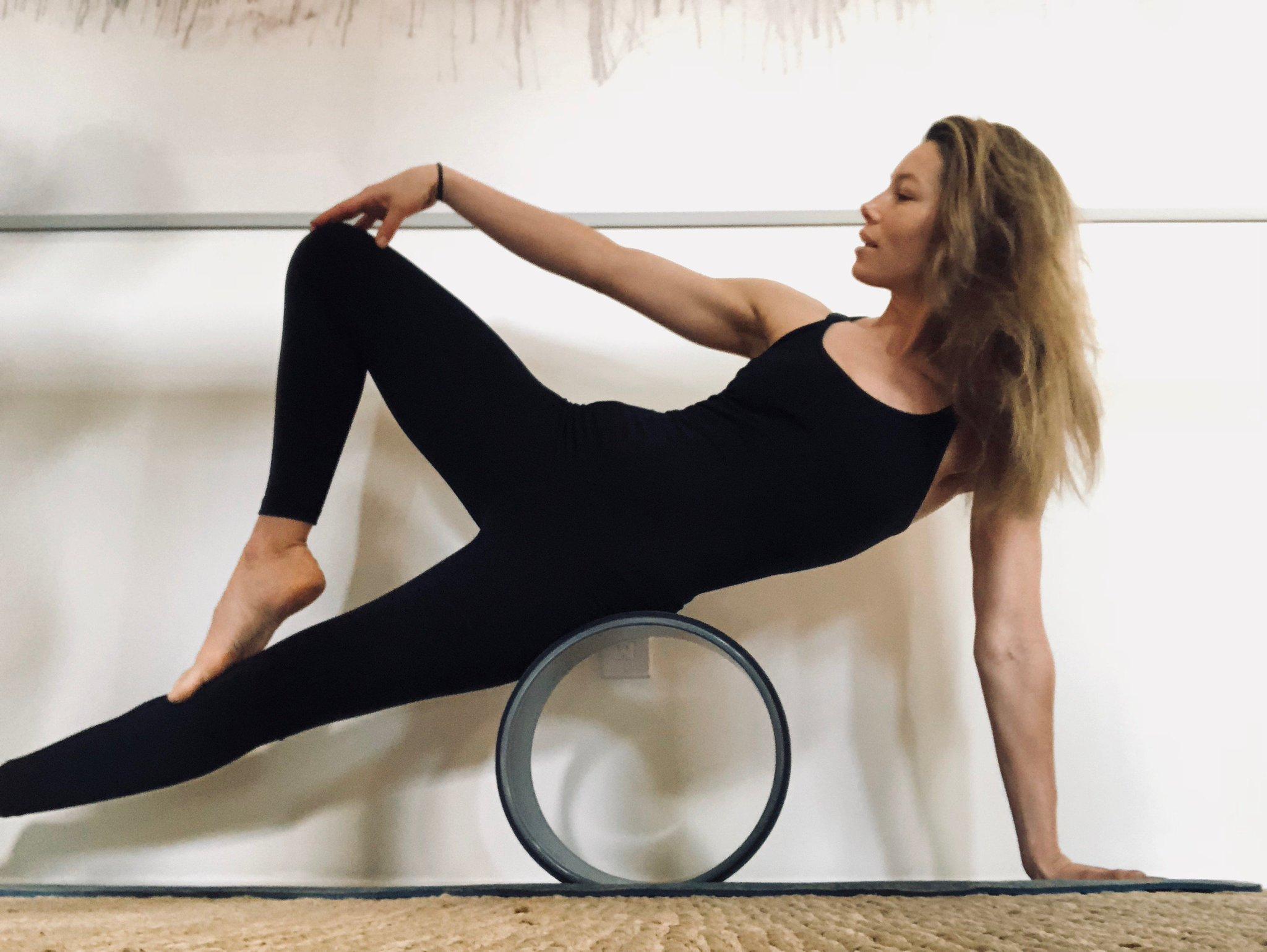 Gaiam Yoga Wheel Video