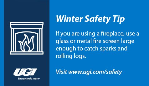 test Twitter Media - While it may feel good to warm up next to a cozy fire, it's important to remember improper use of electric and natural gas appliances can lead to dangerous situations. #WinterSafety https://t.co/hueHqtAWgI