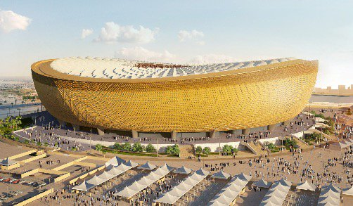 First look at 80,000 stadium set to host Qatar 2022 World Cup final https://t.co/PC3HHdEMvj