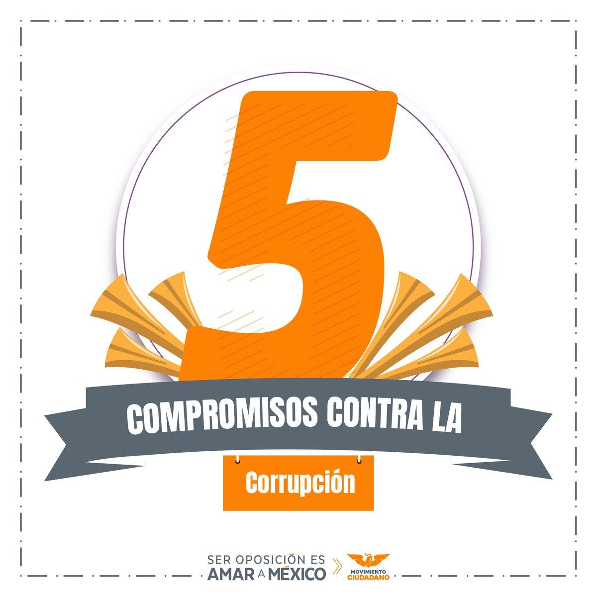 Generamos 5 compromisos contra la corrupción. no te las pierdas a lo largo de la semana y conocerás a fondo https://t.co/5PGnegEdp3