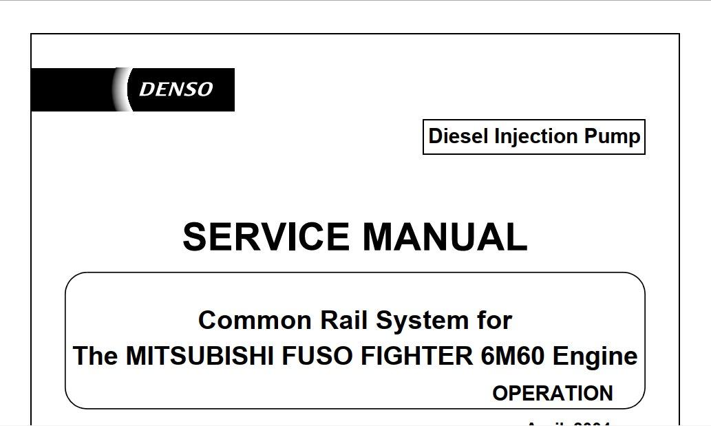 mitsubishi fuso engine manual