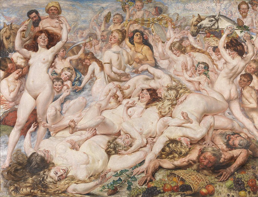 At university of colorado you can get your masters degree painting orgies